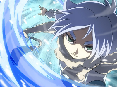 Object~ White Hair Shawn Frost from Inazuma Eleven