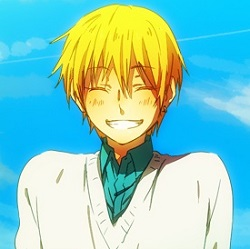 Hm, this seems like fun~ -smiles- I made one for Kise quite some time ago. So, here you go.   I tri