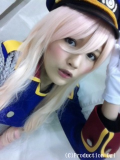 Mayu cosplaying Sheryl Nome Subject: Heavy Rotation
