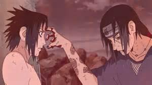 "7/10 uchiha itachi sacrificing his life so his little brother can become konoha""s ""hero""...."