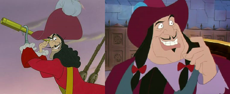 Rapunzel Captain Hook or Governor Ratcliffe