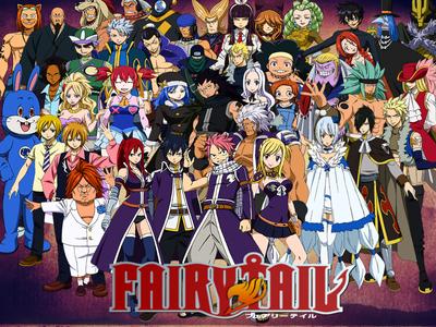 দিন 6: জীবন্ত আপনি want to see but আপনি haven't: Fairy Tail I'm watching 8 animes at the moment so yo