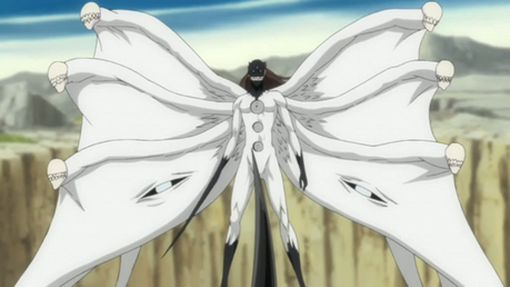 Hiro: Thanks..... So.... Shall we..... *Meanwhile* Kazuki: So.... This is your true form. Aizen: I