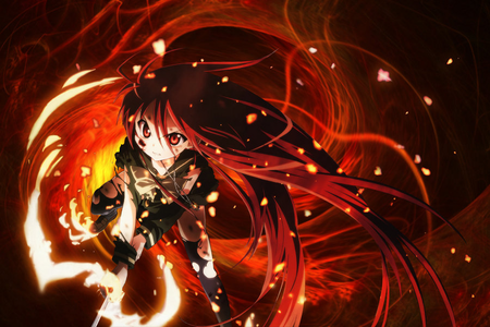 very tough choice as erza has been already posted! shakugan no shana