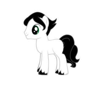 Name: Poltergeist Gender: Stallion Race: Earth poni, pony Personality: Honest, often a bad judge of cha