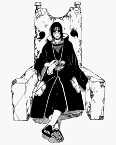 I'll go for another Itachi. c: