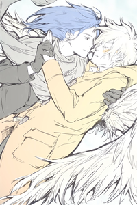 Sorry, a bit late..... Anyways..... No.6 [Shion and Nezumi]
