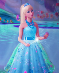 """""""I did nothing to the water, I swear."""" - Ice princess Alexa"""