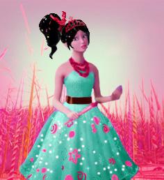 The kẹo princess.