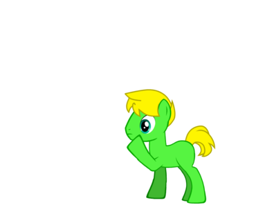 OC: Master Sword Age: 23 Gender: Stallion Personality: Friendly, Good sense of humor, Critical Bi