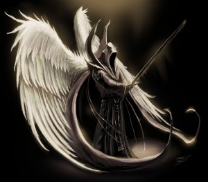 ((Death's true form...Which te never want to see.))
