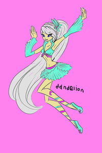 Name: Dandelion Status: Fairy Age: 13 Parents: Marie and John Power: bunga Planet;