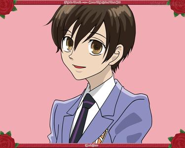 Haruhi Both have brown hair