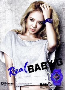 I think it is Yoona. Am I right? Hyoyeon - Real baby G