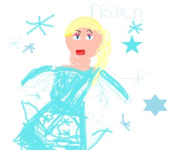 ELsa from forzen