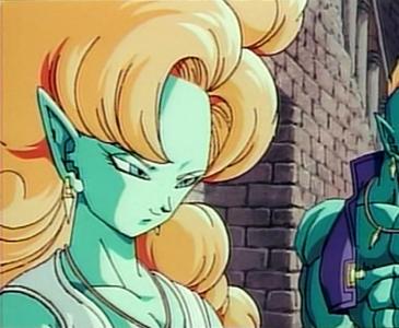 Yeah, she's very cool. It's a pity she's only a minor movie villain.