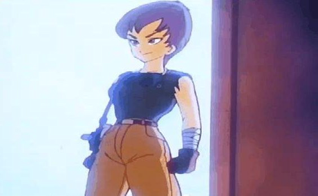 I really like Colonel Violet. She's one of the stongest females in the series (talking about personal