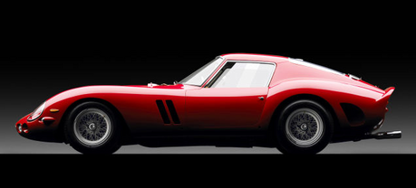 I'll start. Here's a cool car from the '60s. A Ferrari 250 GTO, the most expensive car in the world.