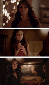 Here's my parte superior, arriba 5 favoritos but not in any particular order! 1. Nina Dobrev on The Vampire Diaries: