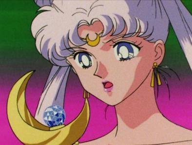 কুইন Serenity - Sailor Moon