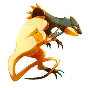 I amor electric types, I use Heliolisk in my party in Pokemon Y