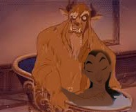 mulan and The beast :3