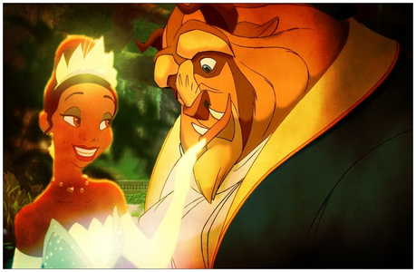The Beast and Tiana :3