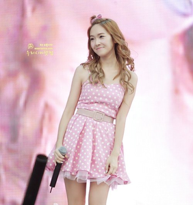 Jessica in a dress! I command a picture of Tiffany with a braid hairstyle~
