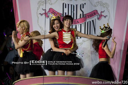 SeoFany I command a pretty pic of your bias on stage
