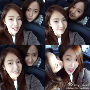 here..jung sisters I Command a picture of YULSEO wearing black outfit