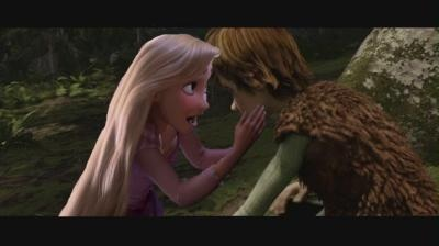 Rapunzel has a talk with hiccup how they are going to make 赤ちゃん right this second.