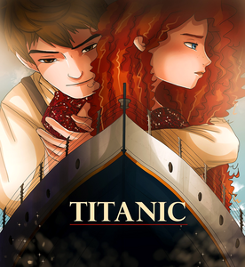 Meanwhile Jack and Merida are like so sad because their on this ship too and they are about to die
