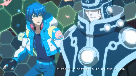 Okay so right now I'm watching Dramatical Murder, I'm on episode 6. When I first started this জীবন্ত