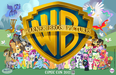 Garble True یا false: Warner Brothers owns My Little Pony.