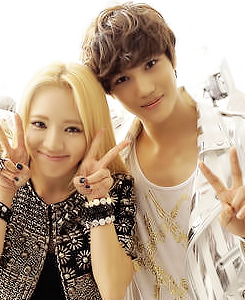 Hyoyeon and Kai