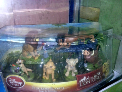 For starter...this is my Lion King figurine set which is pretty common