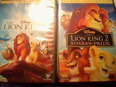 My TLK 1 & 2 DVDs. I never got the TLK 1½ only because I didn't care for it. No offense.