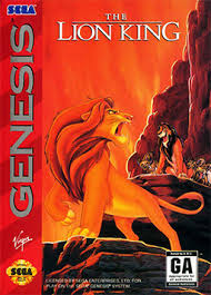 The Lion King on Sega genesis I had but ロスト it. Which I'm planning to buy it again online. It also h