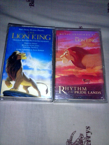 My Lion King soundtracks. Do you know the difference ?