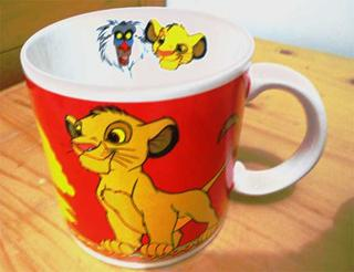 Wow, last reply was a mois il y a ? O.o Anyway, this is a Lion King mug that I'm about to buy.. What