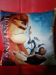 My Lion King pillow, I bought it a couple dia ago.