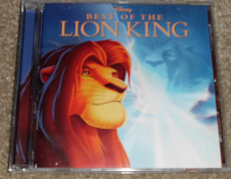 Best of the Lion King CD c: