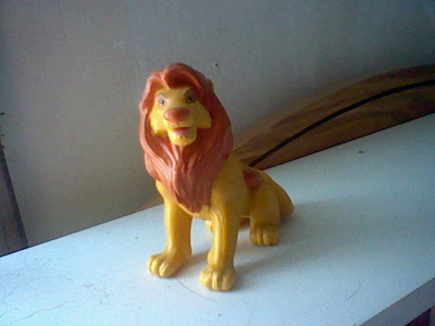 My Simba toy figurine :)