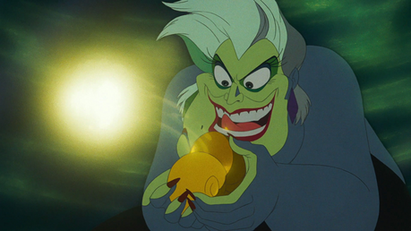 10/10 as a villain in Sleeping Beauty. Less than 3/10 in her own real-life movie... Ursula