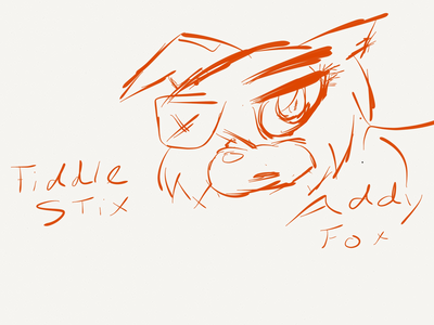 Name: Techix (Addy Foxy ) Gender: Female Species: लोमड़ी, फॉक्स (a rare nine tailed fox) DOB: Well with her