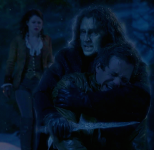 When Rumplestiltskin is in control, he is very aware of Neal's presence in his head, but when Neal ta