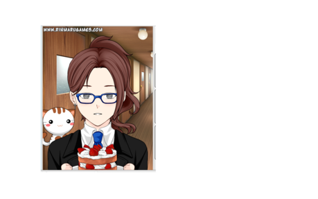 Heres a pic of Julie that i made on rinmarugames.com: BTW she wears glasses!! XD