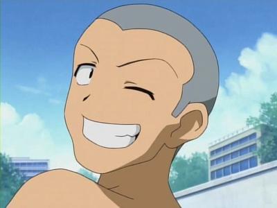 I'll play! Masaki Maruo Pick an animé character who has blue hair:)