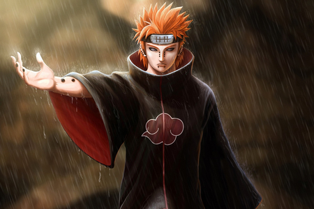 Pain from Naruto Shippuden A character who likes/loves to kill people