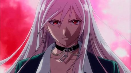A character who hates humans Moka Akashiya from Rosario + Vampire